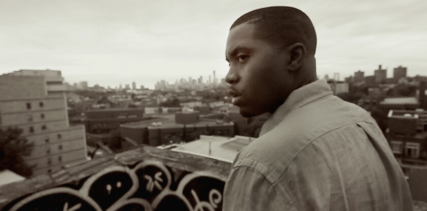 "An image from ""Nas: Time is Illmatic."""