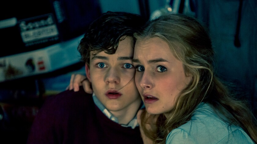 """Levi Miller and Olivia DeJonge in the movie """"Better Watch Out."""""""
