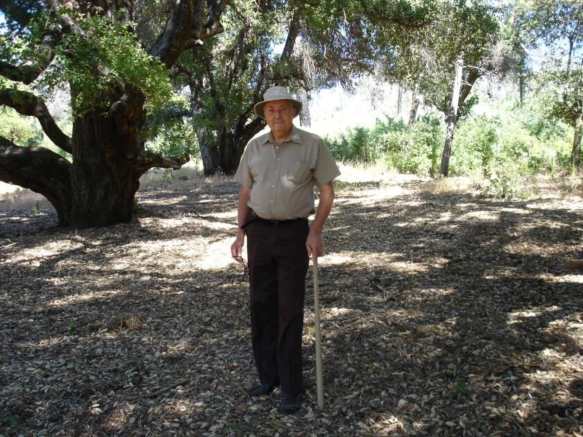 The late Jean Rivier, a Salk lnstitute professor emeritus.