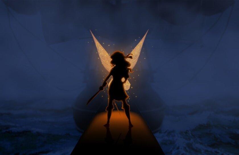 "Dust-keeper fairy Zarina inthe movie ""The Pirate Fairy."""