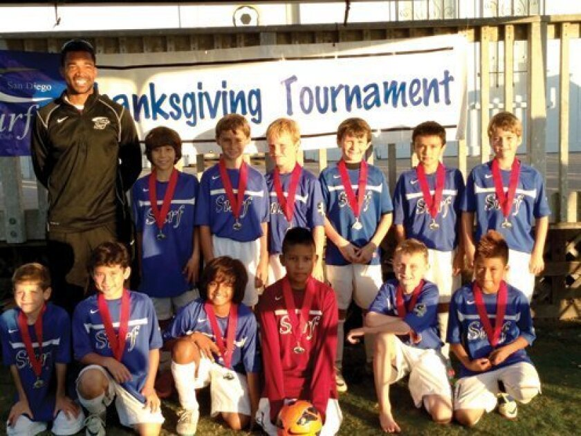 Pictured (from left) 1st row: Jace Wasserman, Kai Walsh, Tejas Gupta, Leo Pereda, Mikey Sherlock, Anthony Cruz. Second Row: Coach Graves, Cristian Haymes, Michael Morse, Reid Hershey, Nate Witte, Isaac Franklin, Paul Cluskey.