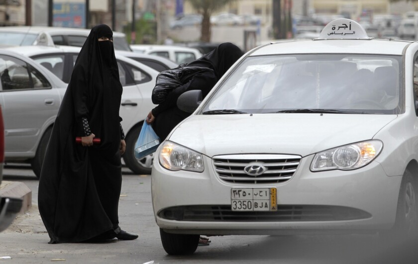 "Saudi women, who aren't allowed to drive, travel alone or appear in public unless fully cloaked and veiled, are accused of ""deliberate flirtatious behavior"" in a study on the causes of sexual harassment."