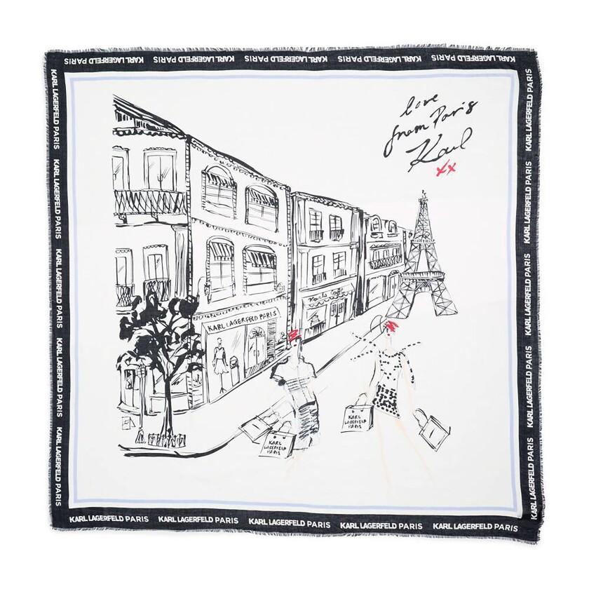 Karl Lagerfeld Paris scarf