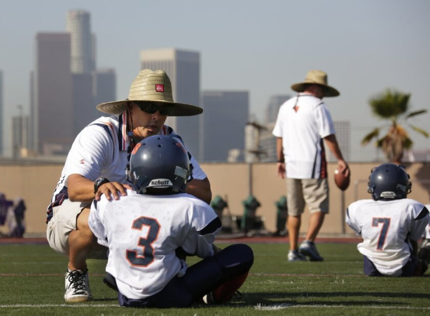 """As fast as a coach can ask, """"Did you get your bell rung?"""" a new test can, with good reliability, detect whether a player should be removed from play and assessed for concussion."""