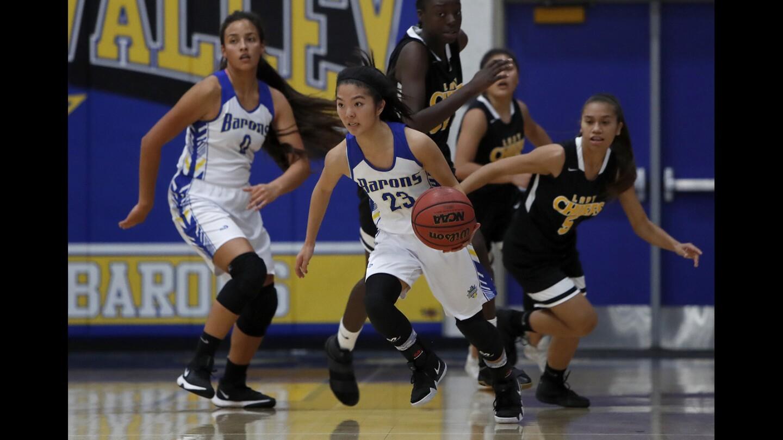 Photo Gallery: Fountain Valley vs. Santa Fe in girls' basketball