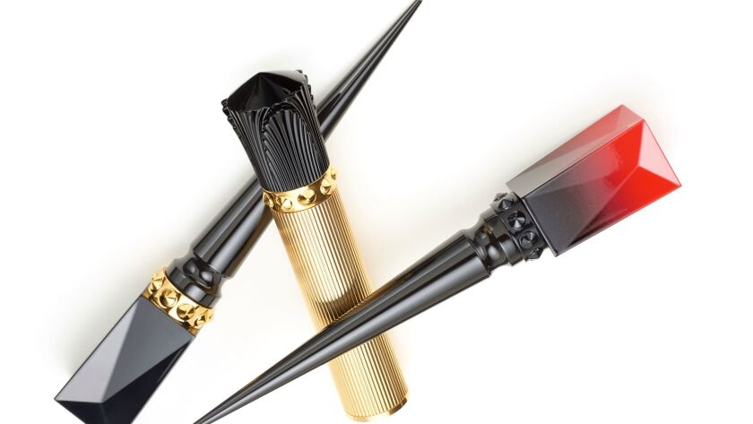Christian Louboutin Beauté's Amplifying Lacquer and Luminous Ink Eyeliner.