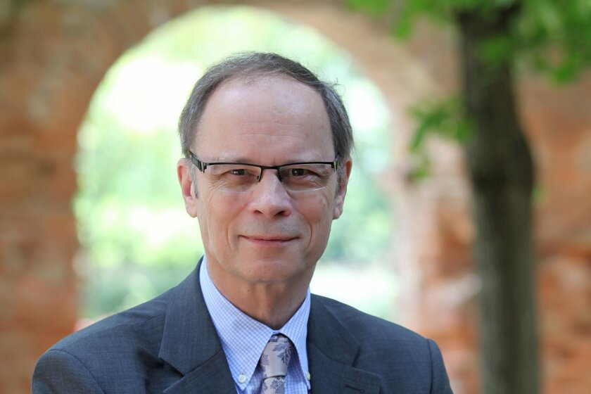 This undated photo provided Monday, Oct. 13, 2014 by the TSE (Toulouse School of Economics) shows French economist Jean Tirole. Tirole won the Nobel prize for economics Monday for research on market power and regulation that has helped policy-makers understand how to deal with industries dominated by a few powerful companies. (AP Photo/Toulouse School of Economics)