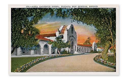 Vintage Agua Caliente postcards