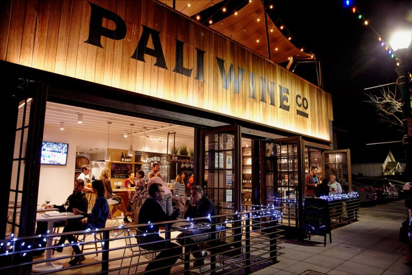 Pali Wine Co. in Little Italy.