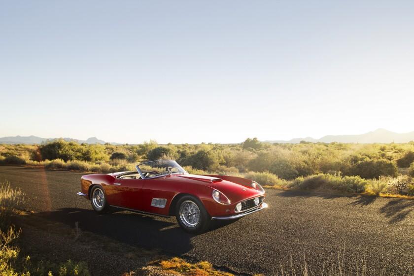 Ferrari Corvette Mclaren Highlight A 249 Million Week At
