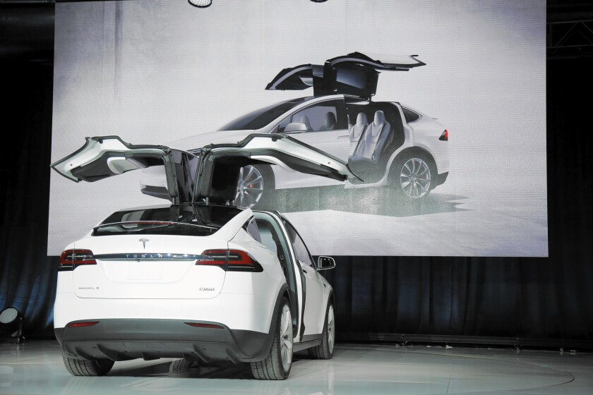 A small business owner with substantial federal tax exposure could place an order for Tesla's new seven-seater Model X and collect up to $35,000 in tax and government rebate benefits.