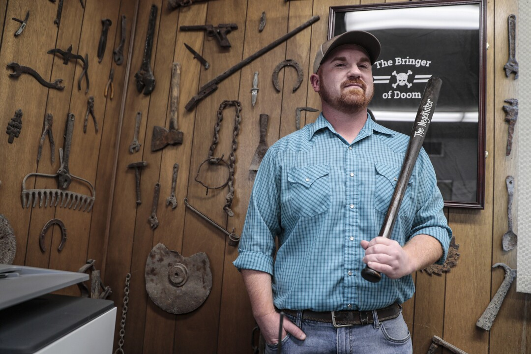 Tulelake Irrigation District Manager Brad Kirby