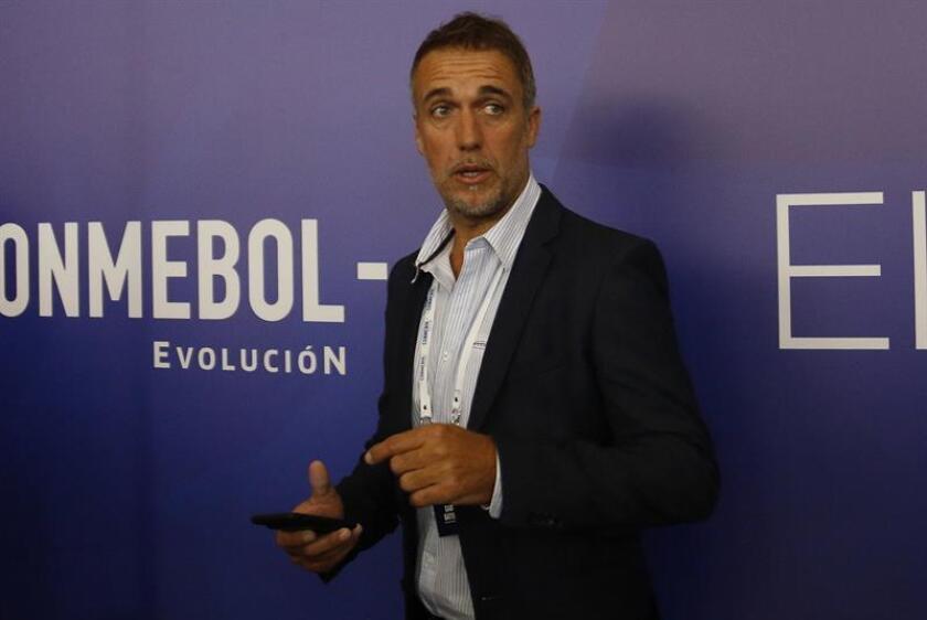 El exjugador de fútbol argentino Gabriel Batistuta. EFE/Archivo