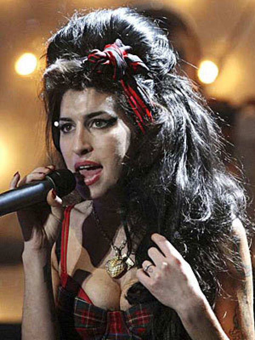 FEELING IT: Amy Winehouse, 24, is showing signs of emphysema.