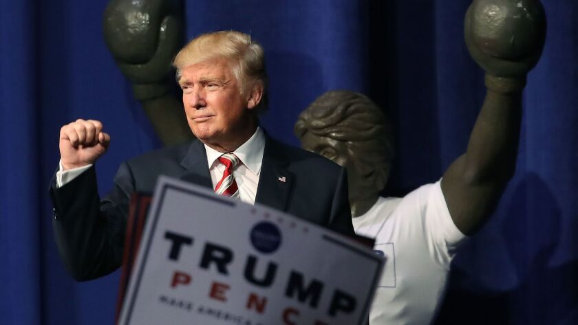 BESTPIX Donald Trump Holds Campaign Event In Pennsylvania