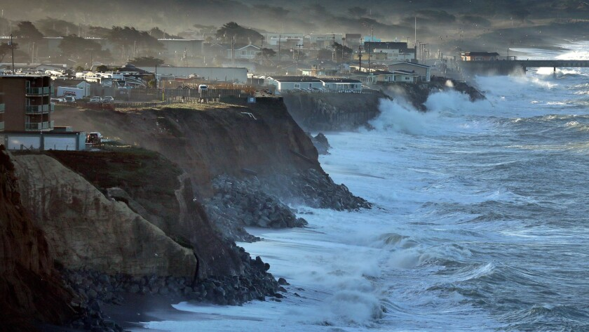 The town of Pacifica, just south of San Francisco, is ground zero for the issue of coastal erosion.