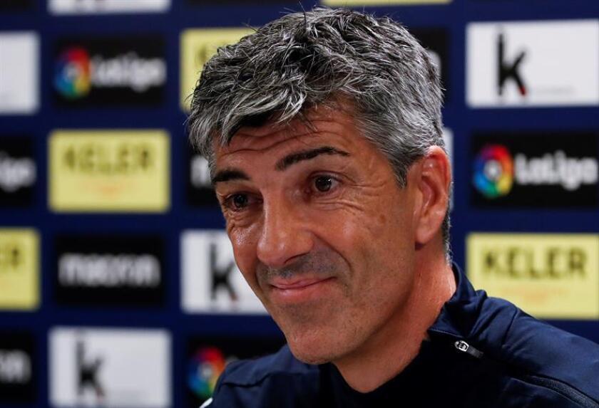 El entrenador de la Real Sociedad, Imanol Alguacil. EFE/Archivo
