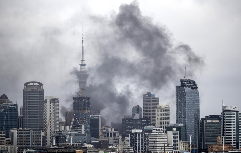 New Zealand Auckland Fire