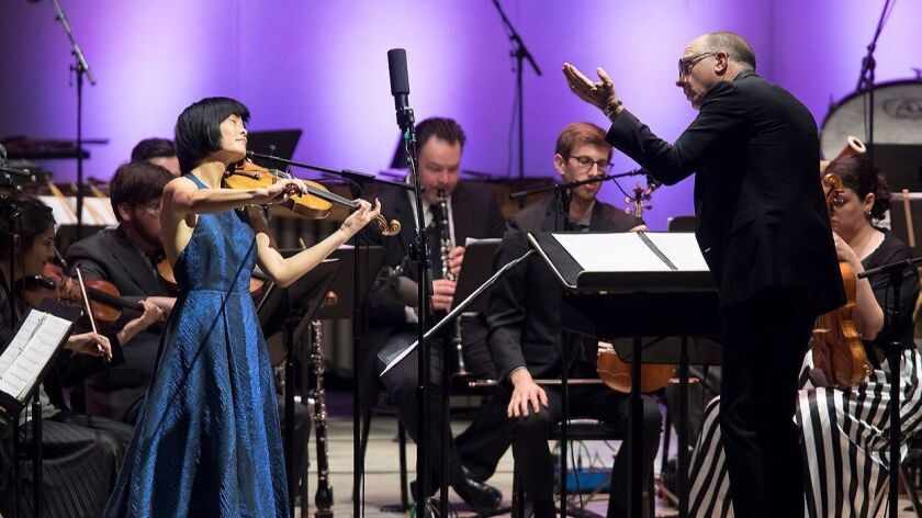 Violinist Jennifer Koh and conductor Steven Shick helped make the Ojai Music Festival's opening nigh