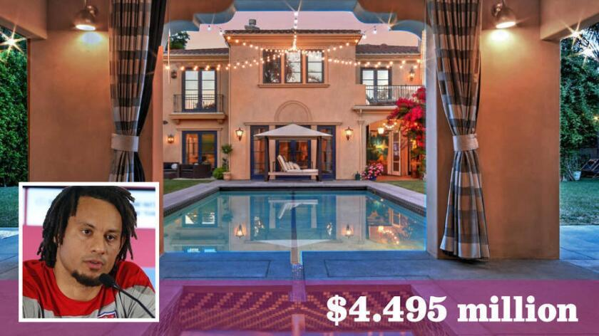 Jones is seeking $4.495 million for the gated Encino home he bought in 2011 from Tori Spelling and Dean McDermott.