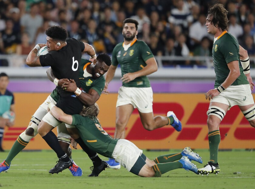 Japan Rugby WCup New Zealand South Africa