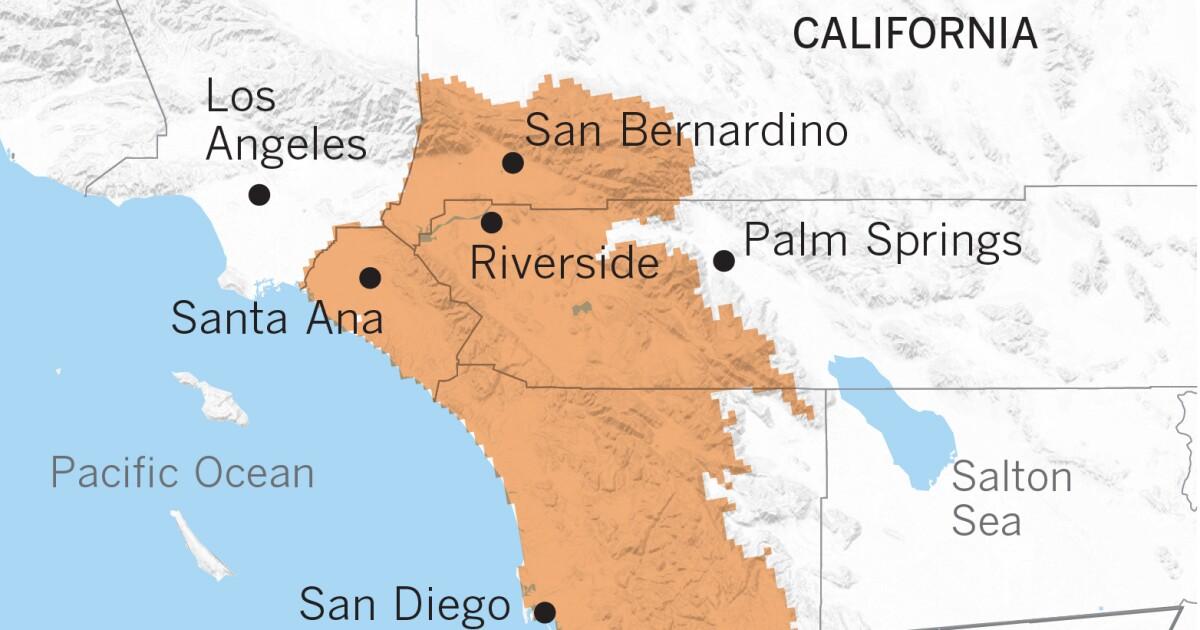 Νότιας Καλιφόρνιας θα πρέπει να ετοιμαστείτε για ένα υγρό μετατρέψει το πρωί