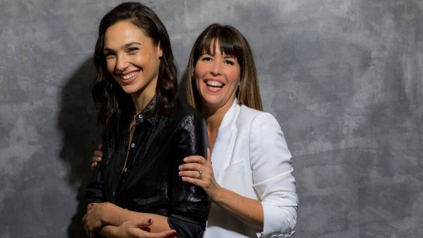 When Gal Gadot and Patty Jenkins get together it's a lovefest — but they've earned it - Los Angeles Times