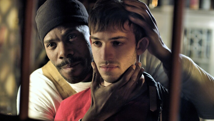 "Colman Domingo, left, and Zack Ryan in the movie ""Beautiful Something."""
