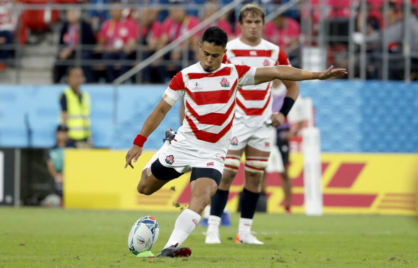 Japan Rugby WCup Japan Samoa