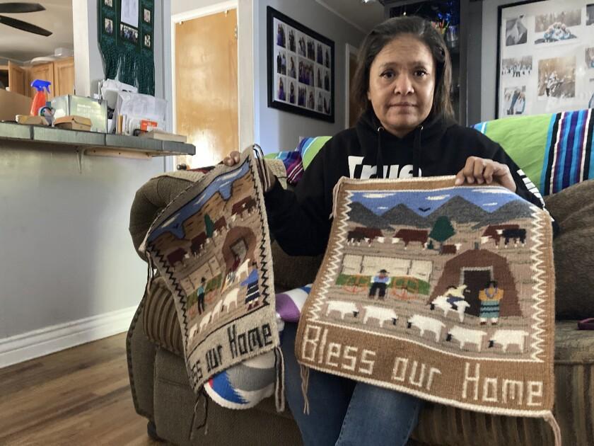 Seraphine Warren posa para una foto en su casa en Tooele, Utah, el 23 de septiembre del 2021