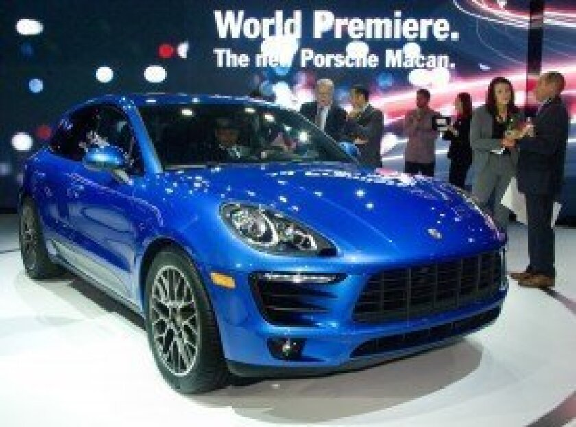 Porsche Macan world premiere