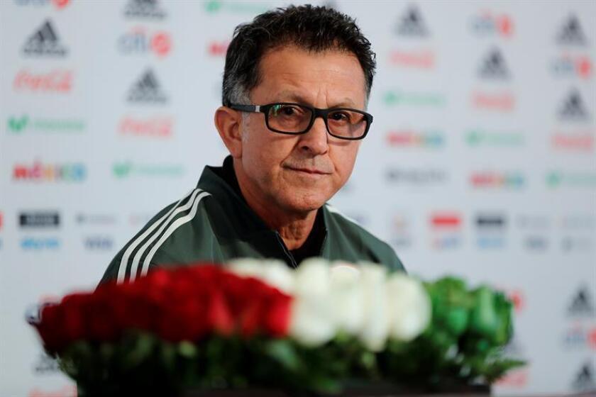 El seleccionador de México, el colombiano Juan Carlos Osorio. EFE/Archivo