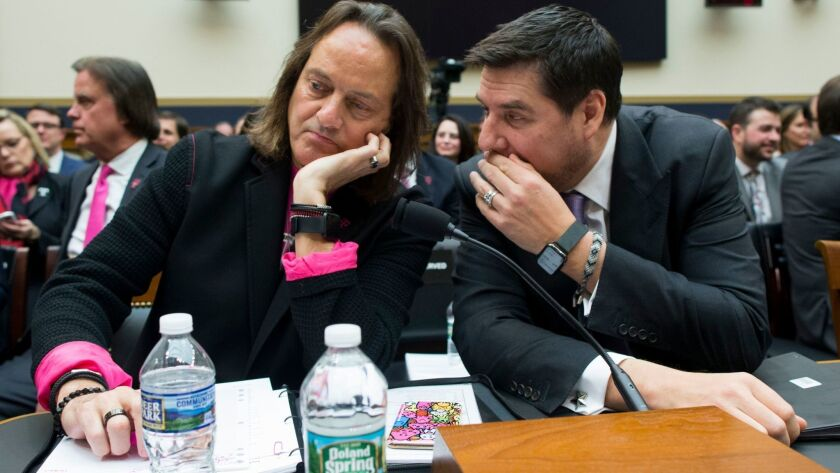 House Judiciary subcommittee hearing on proposed merger between T-Mobile and Sprint, Washington, USA - 12 Mar 2019