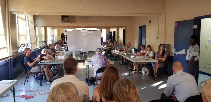 The Ocean Beach Planning Board met Wednesday, Sept. 4 at the OB Rec Center.