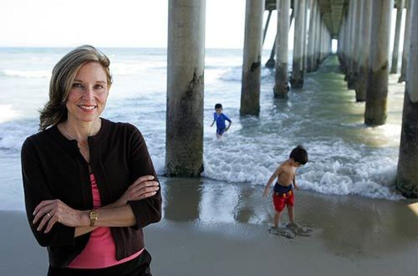 Huntington Beach Mayor Debbie Cook is the Democratic hope to unseat incumbent Rep. Dana Rohrabacher, who is seeking his 11th term in the 46th Congressional District in Southern California.