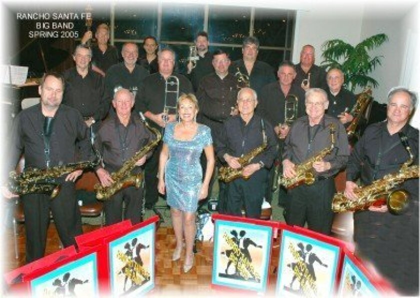 The Rancho Santa Fe Big Band Swing Orchestra.