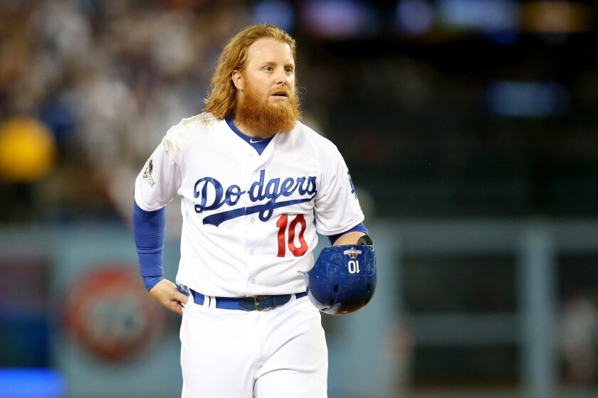 Justin Turner was outspoken Monday in his criticism of MLB Commissioner Rob Manfred.