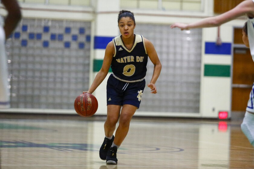 Mater Dei Catholic senior Marissa Sanchez, who has averaged double figures in scoring for four straight years, figures to play point guard at the next level.