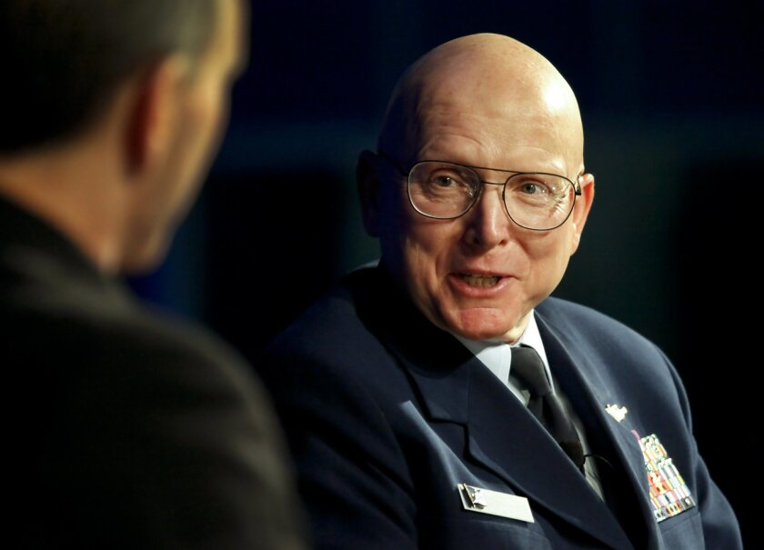 Coast Guard Commandant Adm. Robert Papp, who appeared at a defense industry conference at the San Diego Convention Center, said the service hasn't seen major budget reductions.