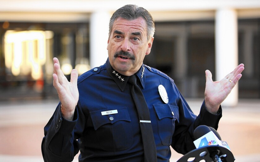 Los Angeles Police Department Chief Charlie Beck