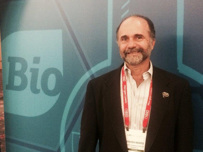Steve Mento, CEO of Conatus Pharmaceuticals.