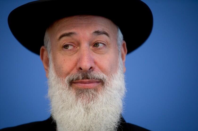 Israeli police arrest former chief rabbi on suspicion of corruption