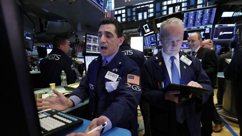 The New York Stock Exchange saw a modest rally run out of steam at the end of the trading day Wednesday.