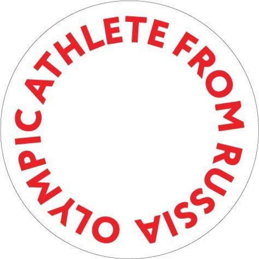 Russian athletes uniform