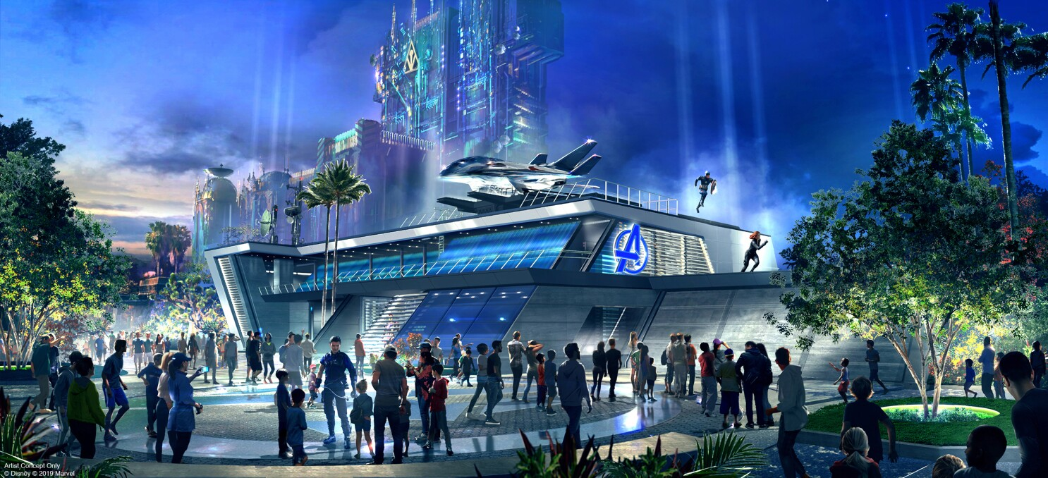 D23 Expo: Disney's IP is squeezing the theme out of theme parks