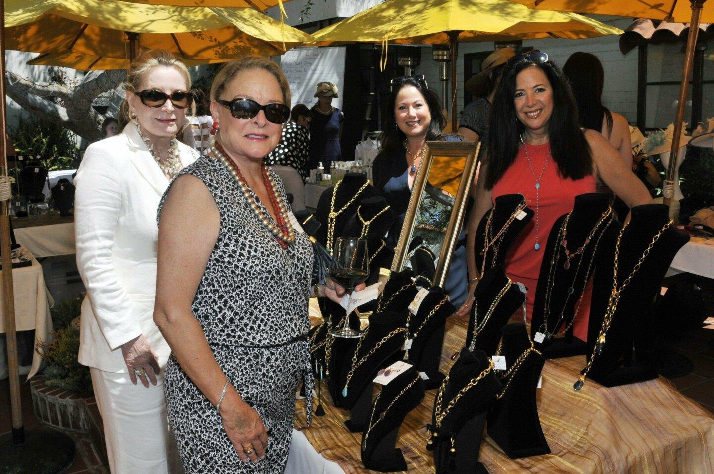 Suzanne Witter, Connie Englert, Maria Parnell (Settedivinidesigns.com), Christina Capozzi