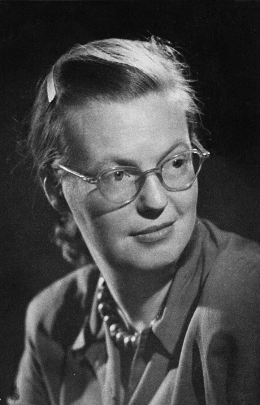Won't the real Shirley Jackson, seen here in 1951, please stand up?