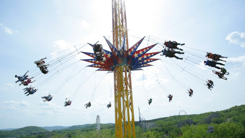 Funtime Star Flyer swing tower.