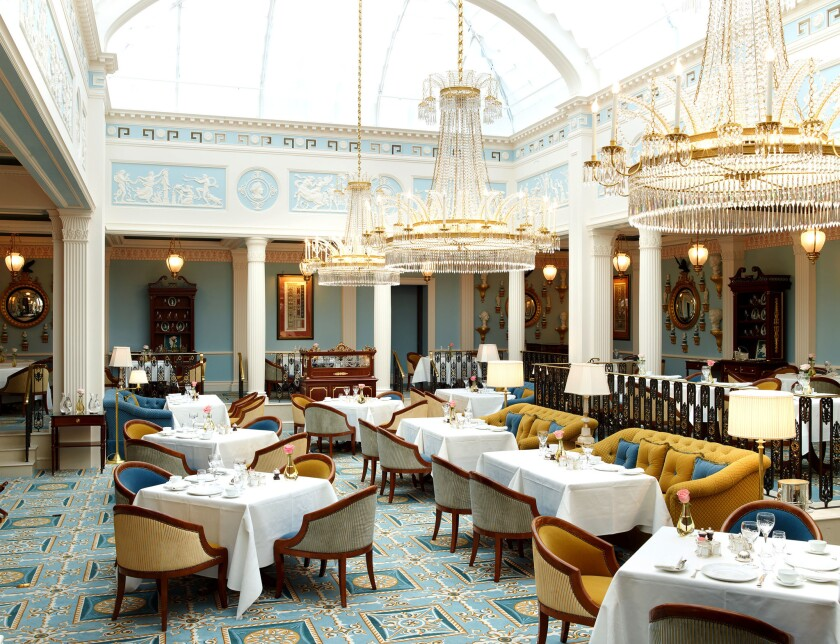 Afternoon Tea at The Lanesborough in London.
