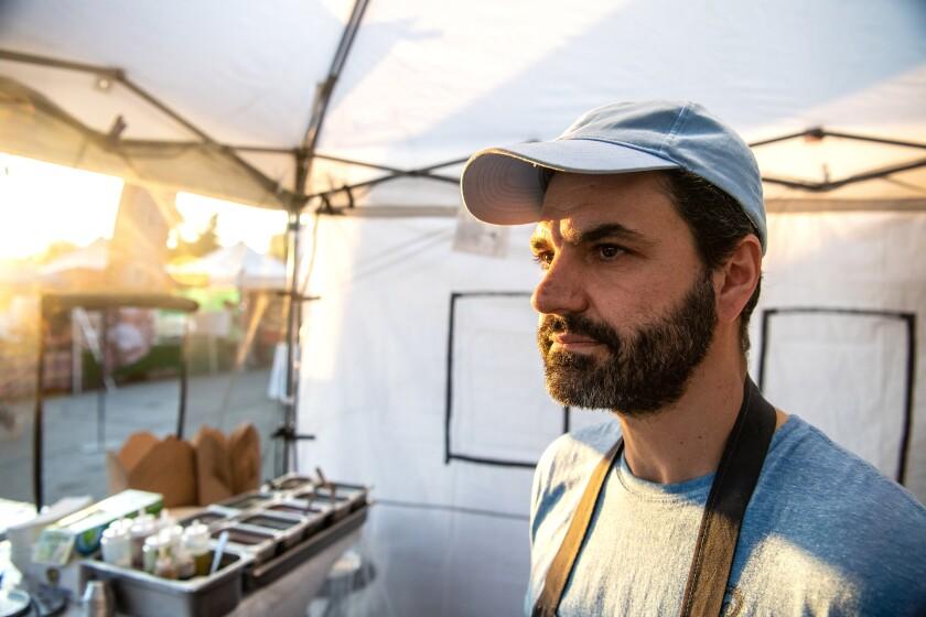Chef Kostas Katsaros of Calamaki